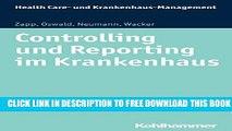 Collection Book Controlling und Reporting im Krankenhaus (Health Care - und Krankenhausmanagement)