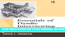 Collection Book Essentials of Dyadic Interviewing