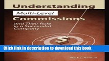Read Understanding Multi-Level Commissions and Their Role in a Successful Company (Revised