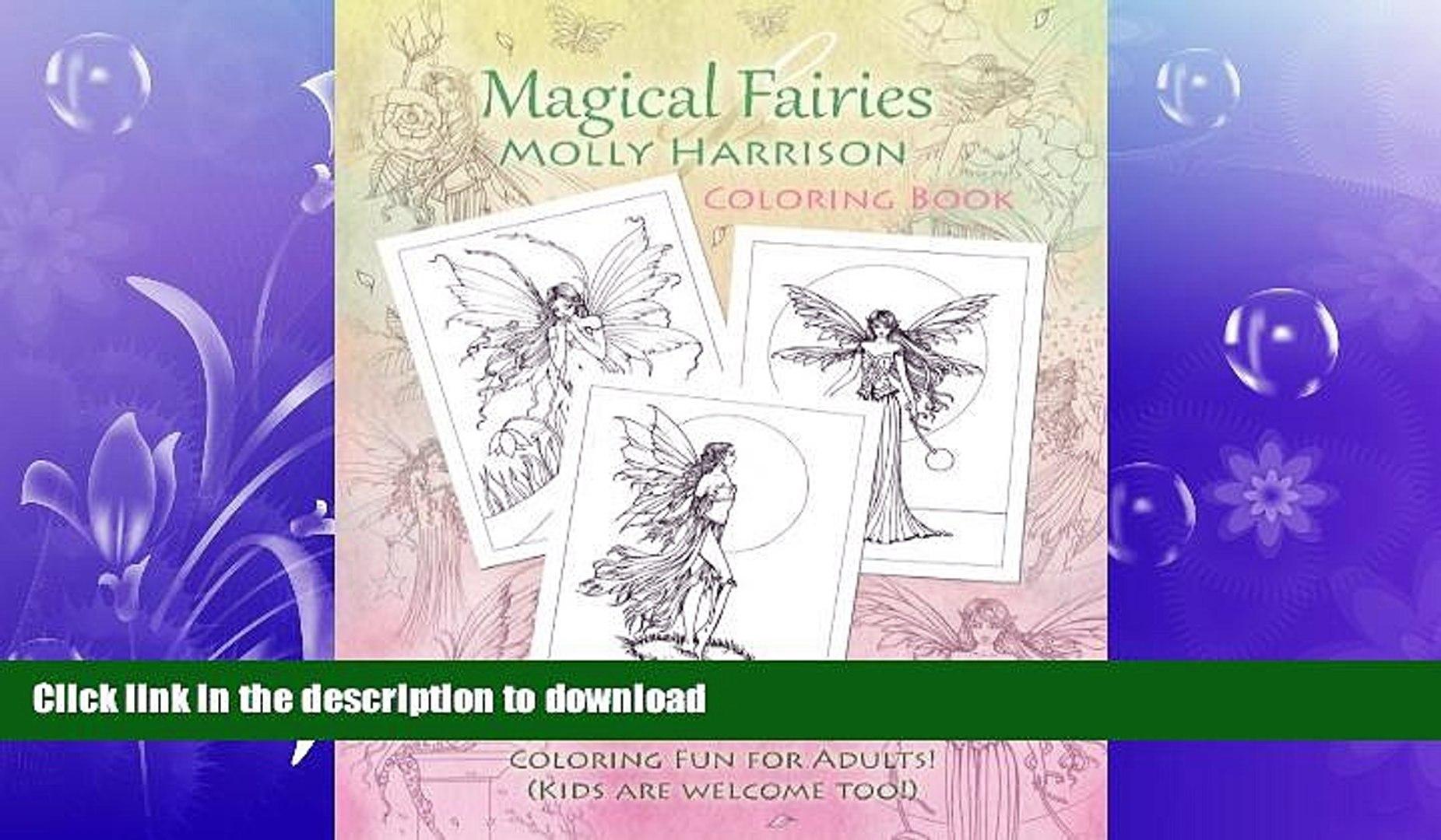 FAVORITE BOOK  Magical Fairies of Molly Harrison: Flower Fairies and Celestial Fairies  BOOK