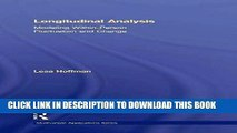 [PDF] Longitudinal Analysis: Modeling Within-Person Fluctuation and Change (Multivariate