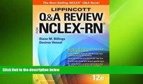 behold  Lippincott Q A Review for NCLEX-RN (Lippioncott s Review for Nclex-Rn)