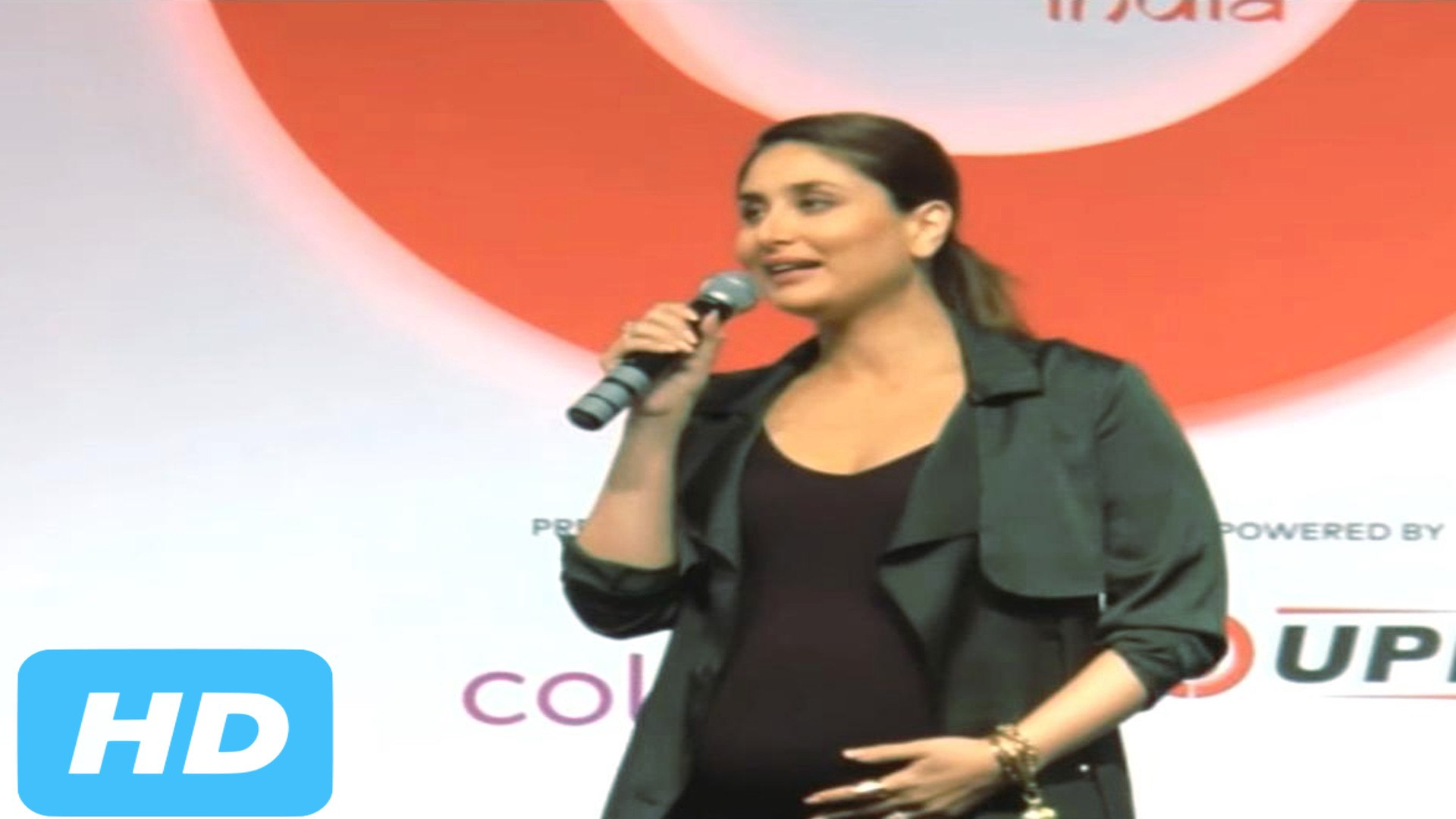Kareena Kapoor Flaunts Baby Bump At Global Citizen India