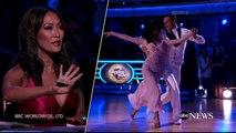 """USA: La police intervient alors que 2 hommes tentent de monter sur la scène de """"Danse avec les stars"""" en direct sur CBS"""