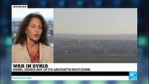 Israel: Syria claims it shot down an Israeli warplane and drone, Jerusalem denies