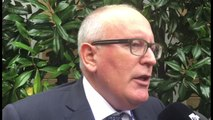 Timmermans: spero che Ue vada anche oltre il Migration Compact