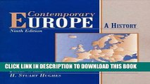 [PDF] Contemporary Europe: A History (9th Edition) [Full Ebook]