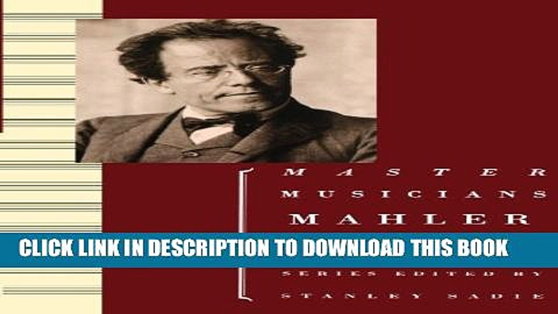 [PDF] Mahler (Master Musicians) Full Online