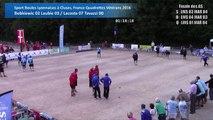 Demi-finales, Sport Boules, France Quadrettes Vétérans, Cluses 2016