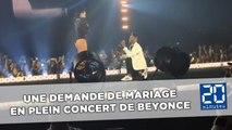 Beyoncé orchestre la demande en mariage d'un de ses danseurs en plein concert