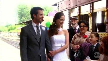 Professora Helena e Renê se casam