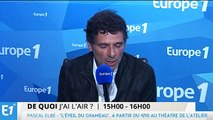 """Pascal Elbé : Au théâtre, """"le pire c'est la salle vide"""""""