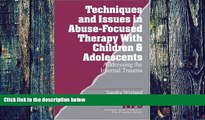 Big Deals  Techniques and Issues in Abuse-Focused Therapy with Children   Adolescents: Addressing