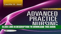 [PDF] Advanced Practice Nursing: Essentials of Role Development Full Colection