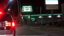 Voila ce qui se passe dans la banlieue de Detroit en pleine nuit.