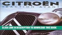 [Read PDF] Citroen Traction Avant Download Free