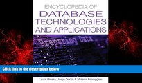 For you Encyclopedia Of Database Technologies And Applications