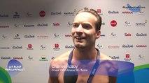 Charles Rozoy - Finale 100m brasse S8 - 5ème - Jeux Paralympiques Rio 2016