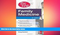 different   Family Medicine PreTest Self-Assessment And Review, Third Edition