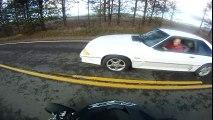 Honda TRX450r vs. Ford Mustang Race