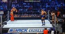 WWE rey mysterio & big show VS cm punk & jack swagger HD