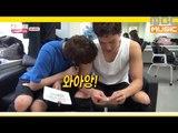 (Showchampion behind EP.18) MONSTA X Kihyun&I.M like Shownu's muscles of arm