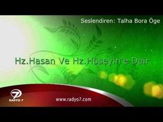 Hz Hasan Ve Hz Hüseyin'e Dair