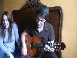 Anais Christina guitare voix premiere