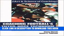 [PDF] Coaching Football s Tilted-Nose Technique Popular Colection