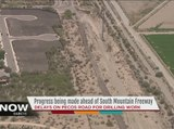 Progress being made ahead of South  Mountain Freeway