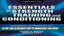 [PDF] Essentials of Strength Training and Conditioning - 3rd Edition Full Colection