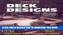 [PDF] Deck Designs: Plus Railings, Planters, Benches Popular Colection