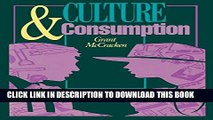 [PDF] Culture and Consumption: New Approaches to the Symbolic Character of Consumer Goods and