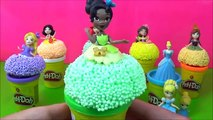 Disney Princess Little Kingdom Play Foam Play-doh Toys Surprise! Learn Colors To