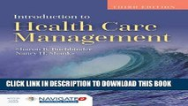 New Book Introduction To Health Care Management