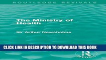 Collection Book The Ministry of Health (Routledge Revivals)