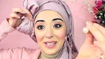 Hijab Tutorial Pretty Bow Turban - From My Ariana Grande Makeup Tutorial