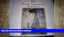 FAVORITE BOOK  50 French IMpressionist Masterpieces (Large Poster Size, Suitable for Framing)