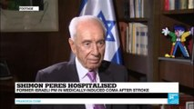 """Israel: Former PM Shimon Peres in medically-induced coma """"responded to family"""""""