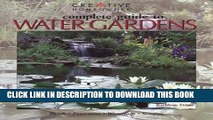 [PDF] Complete Guide to Water Gardens: Ponds, Fountains, Waterfalls, Streams Popular Colection