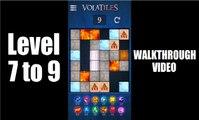 Volatiles - Slide Puzzle Level 7, 8, 9 Walkthrough / Playthrough Video.