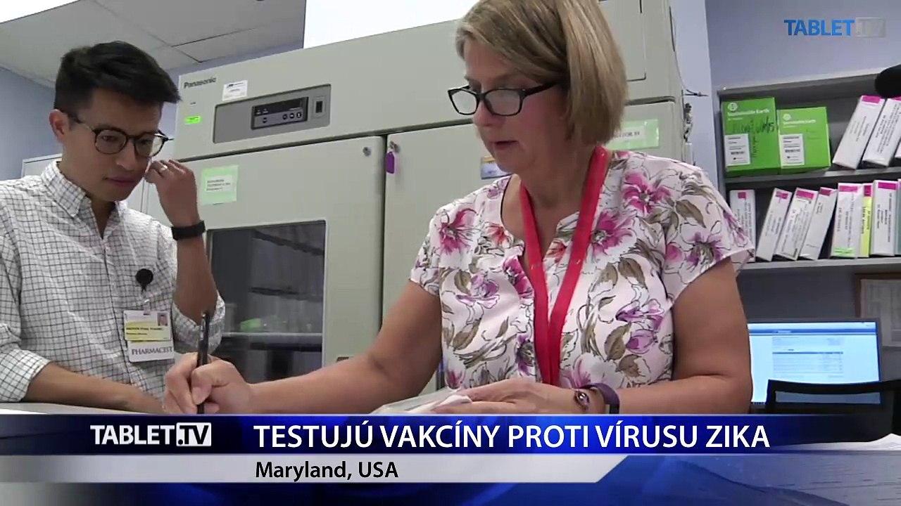 V USA začali testovať prvé dve vakcinačné látky proti vírusu Zika