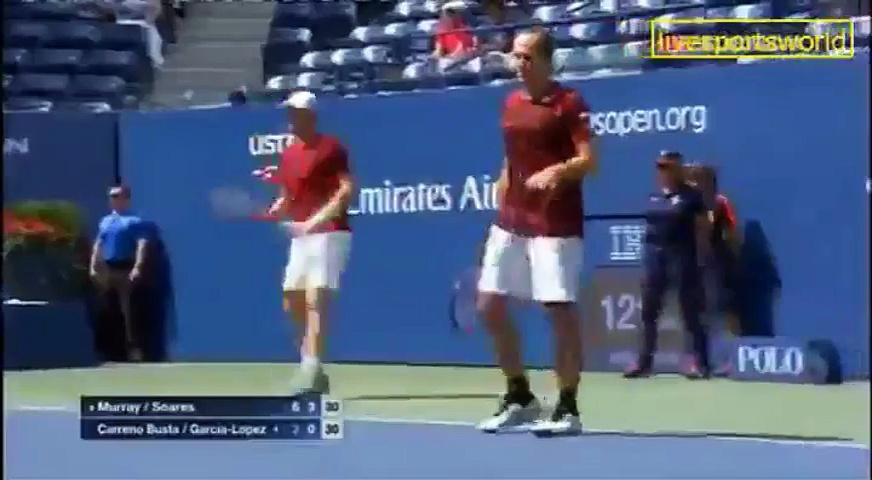 SPORTS WORLD US OPEN TENNIS 2016 MEN double FINAL,PART 3