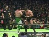 Kenta Kobashi vs. Mitsuharu Misawa(NOAH Navigate For Evolution 2003)