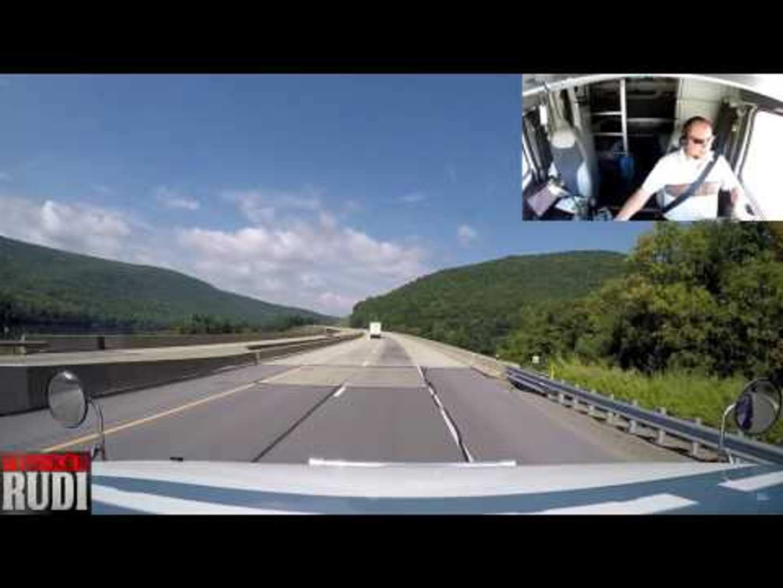 TRUCKER RUDI beautiful part of Pennsylvania 09/07/16 Vlog#820
