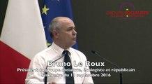 """Bruno Le Roux : """"notre bilan s'inscrit dans l'histoire des apports de la gauche à notre pays"""""""