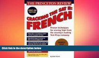 different   Cracking the SAT Il: French Subject Tests, 1998 ED (Annual)