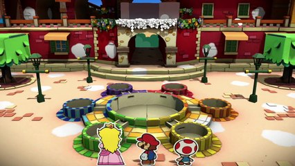 Paper Mario : Color Splash : Paper Mario: Color Splash Trailer – The Adventure Unfolds