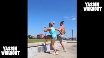 Couple Workout _ Fit together is fit forever _ Cute couple
