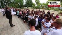 VIDEO. Poitiers. Grève des infirmières au CHU
